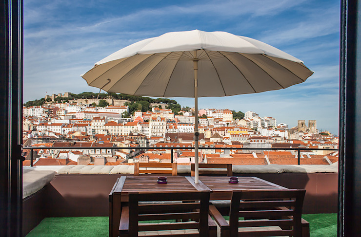 After - Terrace with view por Architecture Tote Ser