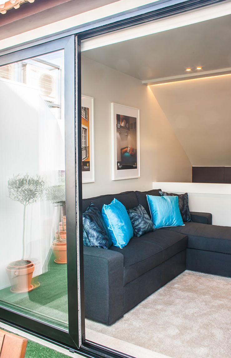 After - Living Room por Architecture Tote Ser
