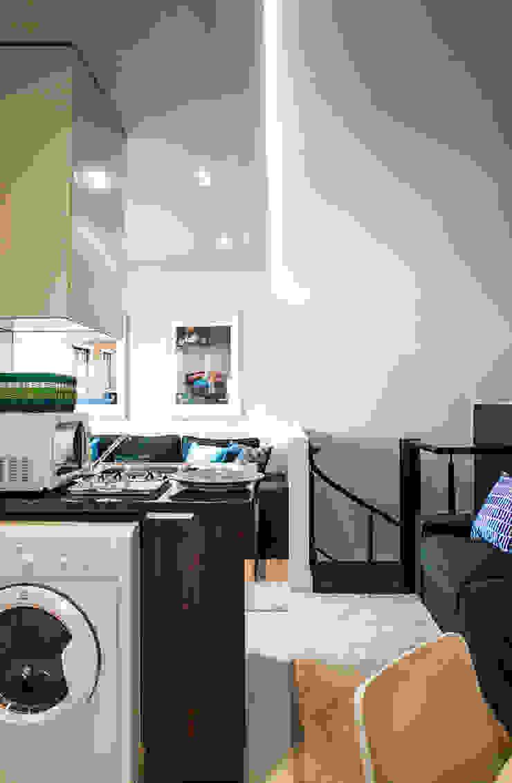 After - Kitchen & living Room por Architecture Tote Ser