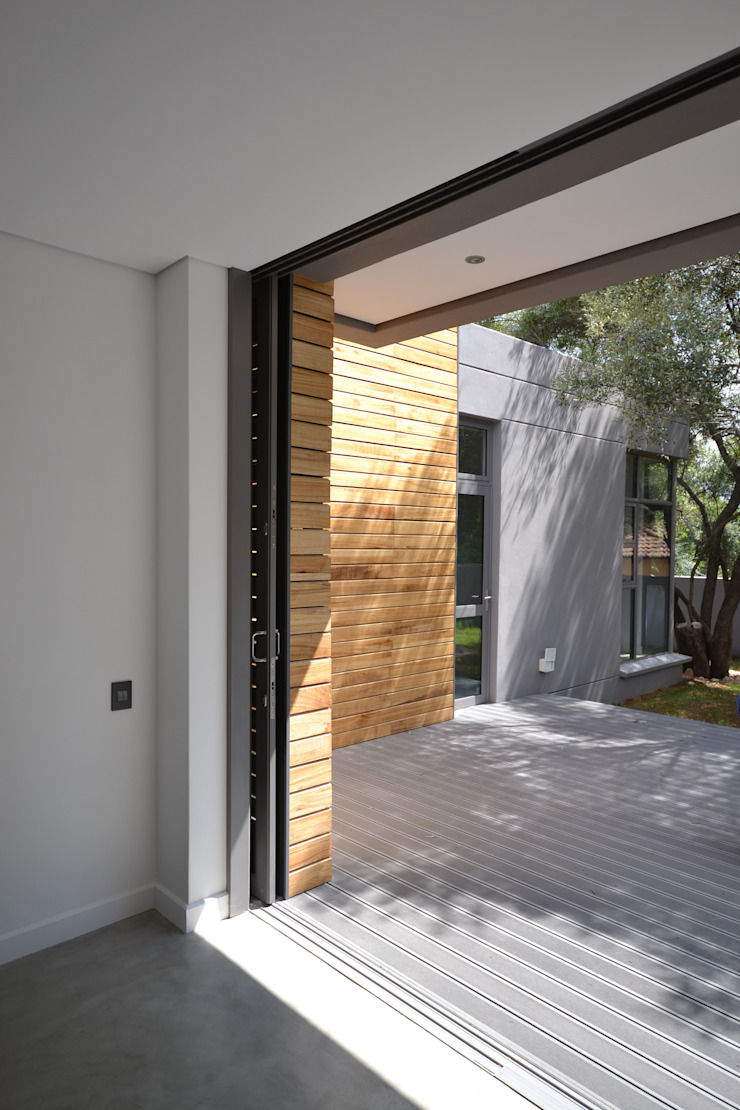 New residence Casas de estilo escandinavo de Nieuwoudt Architects Escandinavo Ladrillos