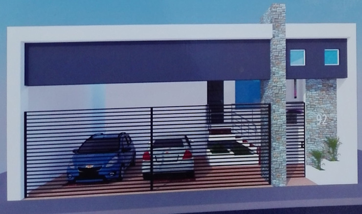 Fachada de Habitat: diseño, mantenimiento y construcción.