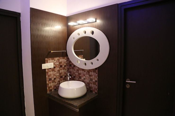 full home interior design cost: modern  by Sai Decors,Modern Glass