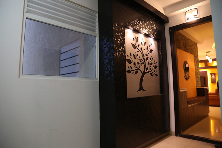 full home interior designers and decorators: modern  by Sai Decors,Modern Chipboard