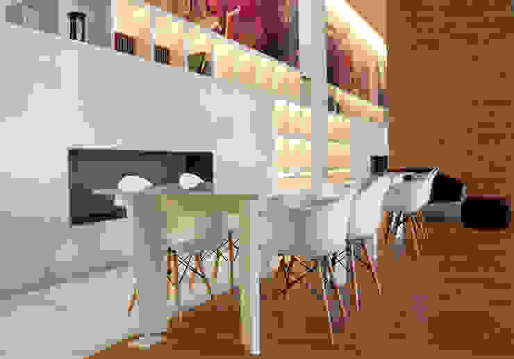 Cosmocrat Estudios y despachos minimalistas de Interia Muebles Minimalista