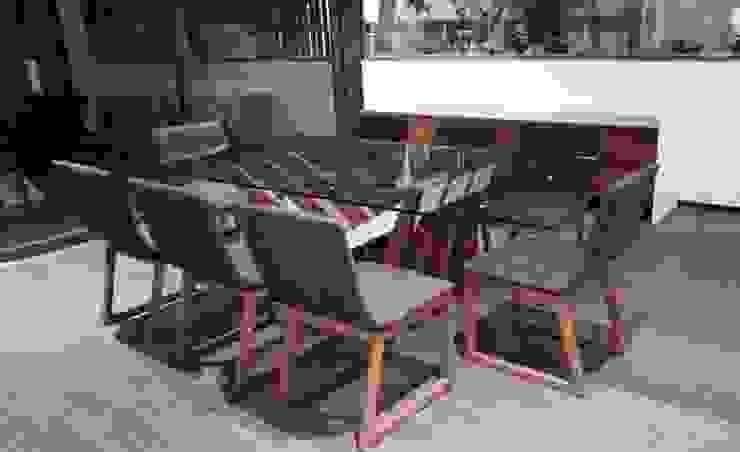 Departamento muestra de Interia Muebles Moderno