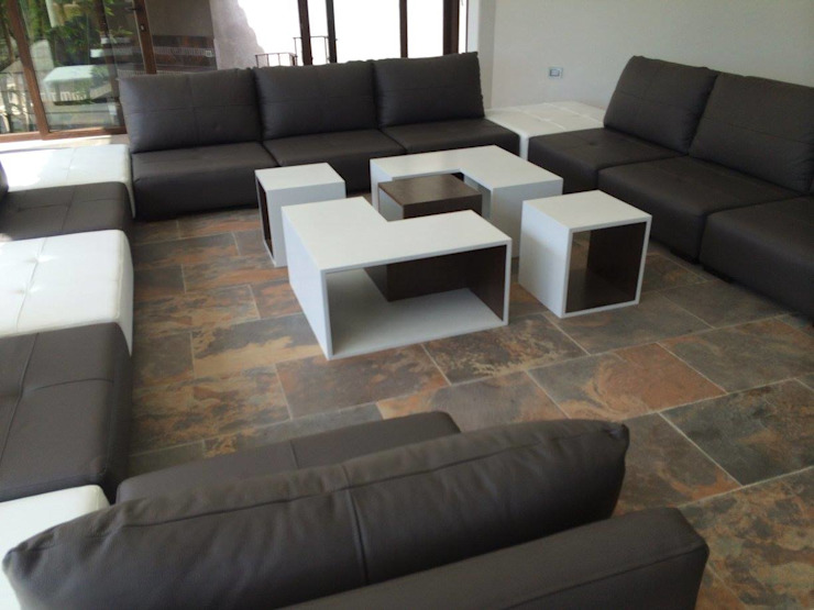 Casa Estado de México Salones modernos de Interia Muebles Moderno