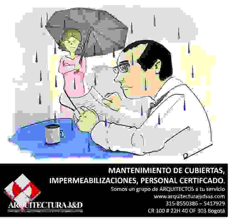 PERSONAL CERTFICADO EN ALTURAS Y COORDINADOR DE ALTURAS:  de estilo industrial por ARQUITECTURA J Y D SAS, Industrial