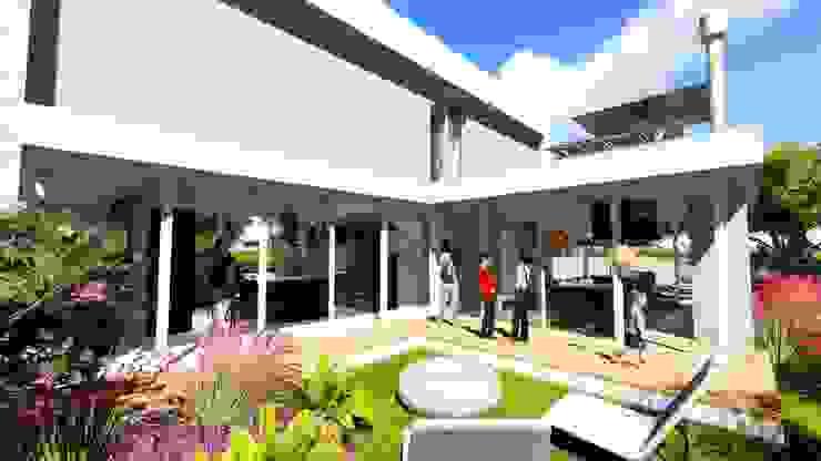 Дома в стиле модерн от AMIR SAMAD SHAFA Модерн
