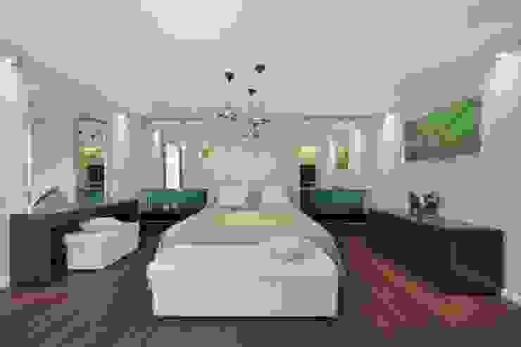 Minimalist bedroom by Студия дизайна интерьера 'Градиз' Minimalist