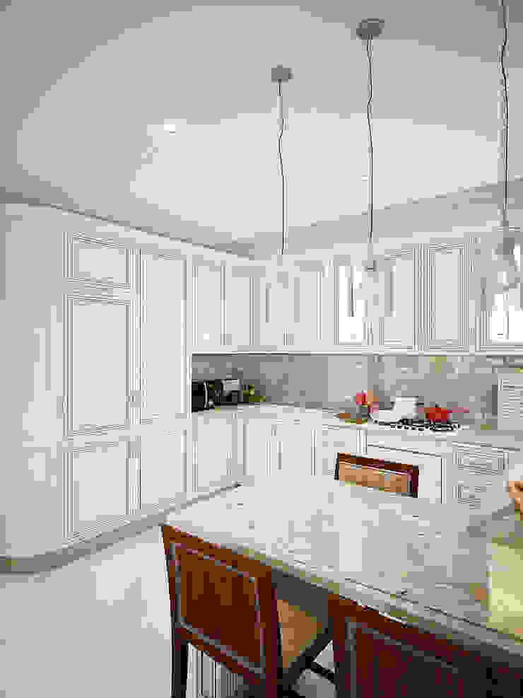 Дом в Заречье Кухня в классическом стиле от Алина Насонова Классический