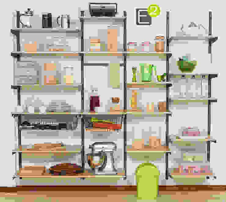Espacio al Cuadrado Modern kitchen