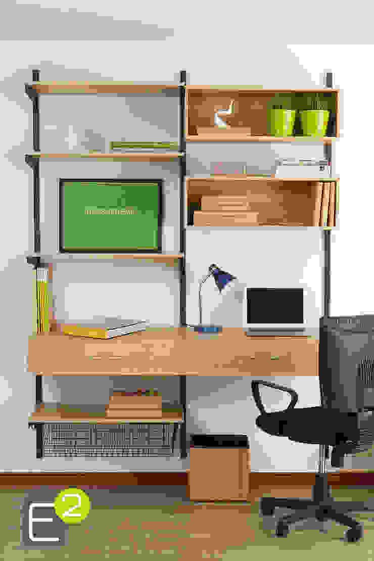 Modern study/office by Espacio al Cuadrado Modern
