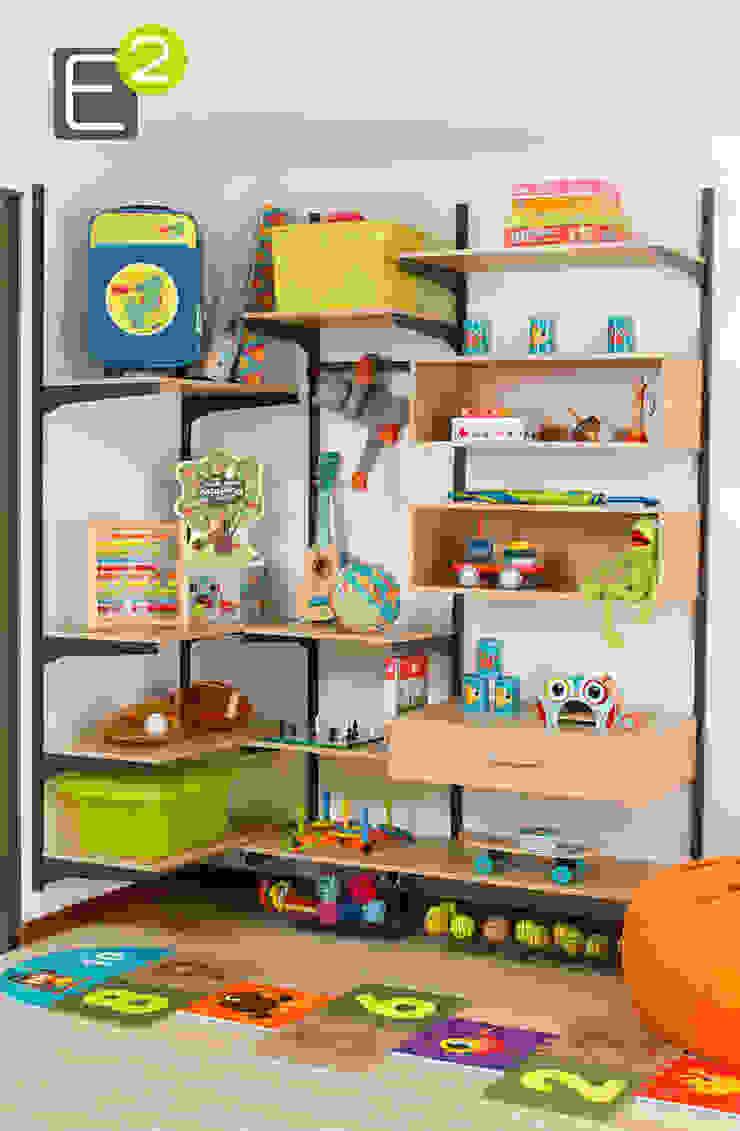 Chambre d'enfant moderne par Espacio al Cuadrado Moderne
