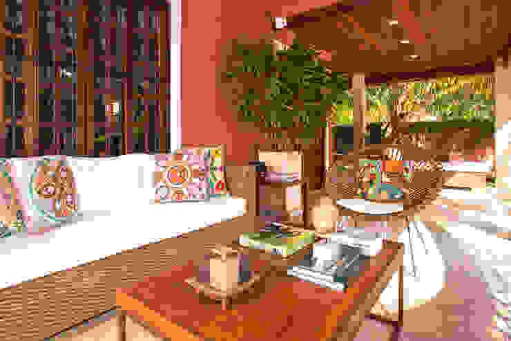 Balcones y terrazas de estilo rústico de Andréa Spelzon Interiores Rústico