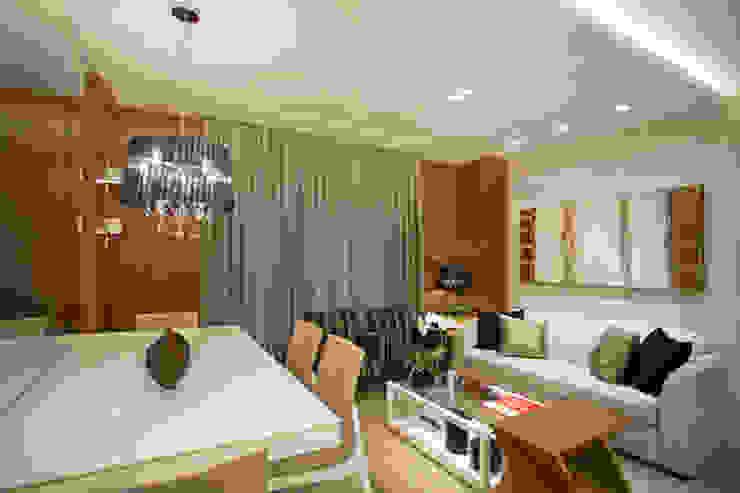 Living: Salas de estar  por Andréa Spelzon Interiores,Moderno