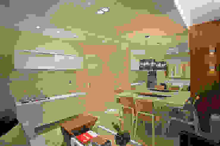 Living: Salas de jantar  por Andréa Spelzon Interiores,Moderno