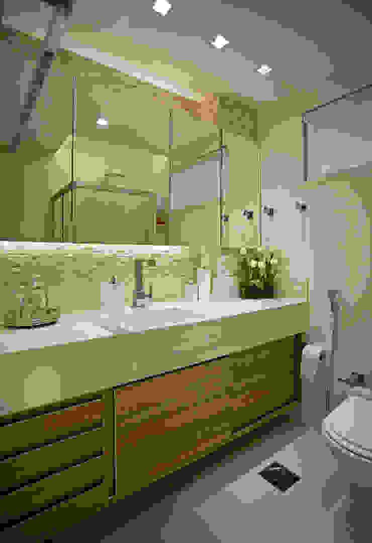Andréa Spelzon Interiores Modern style bathrooms