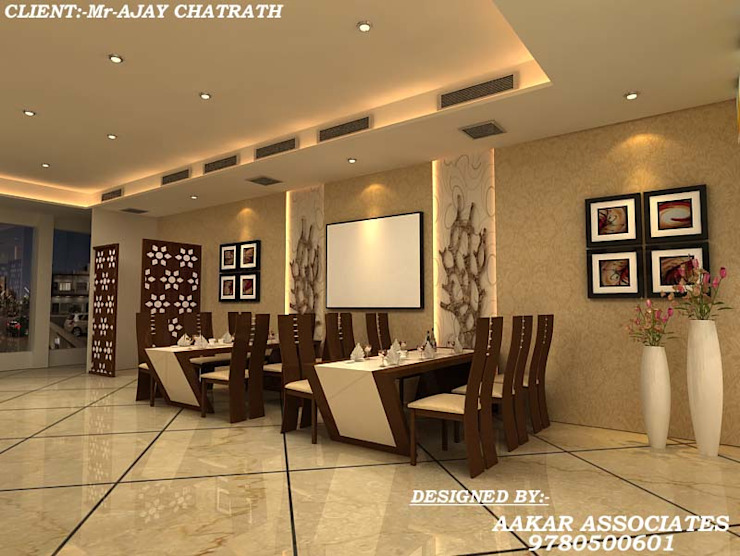 residental,commercial Minimalist houses by aakarconstructions Minimalist