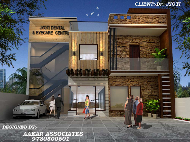 residental,commercial Industrial style conservatory by aakarconstructions Industrial