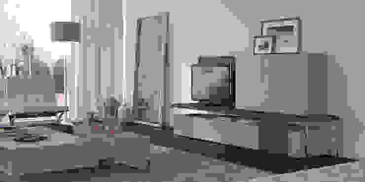 Salas de estar Living rooms www.intense-mobiliario.com MARLIM http://intense-mobiliario.com/pt/salas-de-estar/3637-sala-de-estar-marlim.html por Intense mobiliário e interiores; Moderno