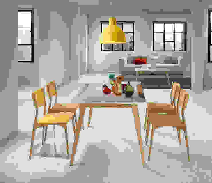Mesas de jantar extensíveis Extensible dining tables www.intense-mobiliario.com YDOOW http://intense-mobiliario.com/pt/mesas-jantar-madeira/9718-mesa-extensivel-ydoow.html por Intense mobiliário e interiores; Moderno