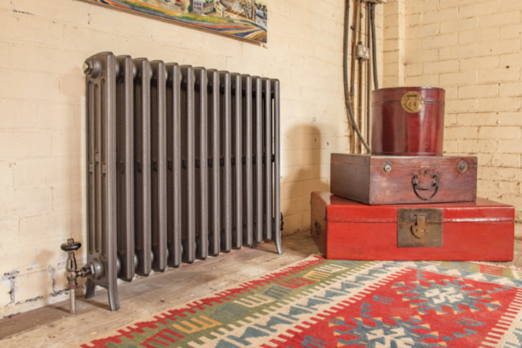 Urban chic radiator designs Feature Radiators Living roomFireplaces & accessories