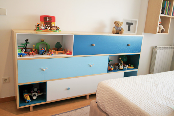 Quarto Infantil, 2014 – Braga Quartos de criança escandinavos por Ci interior decor Escandinavo