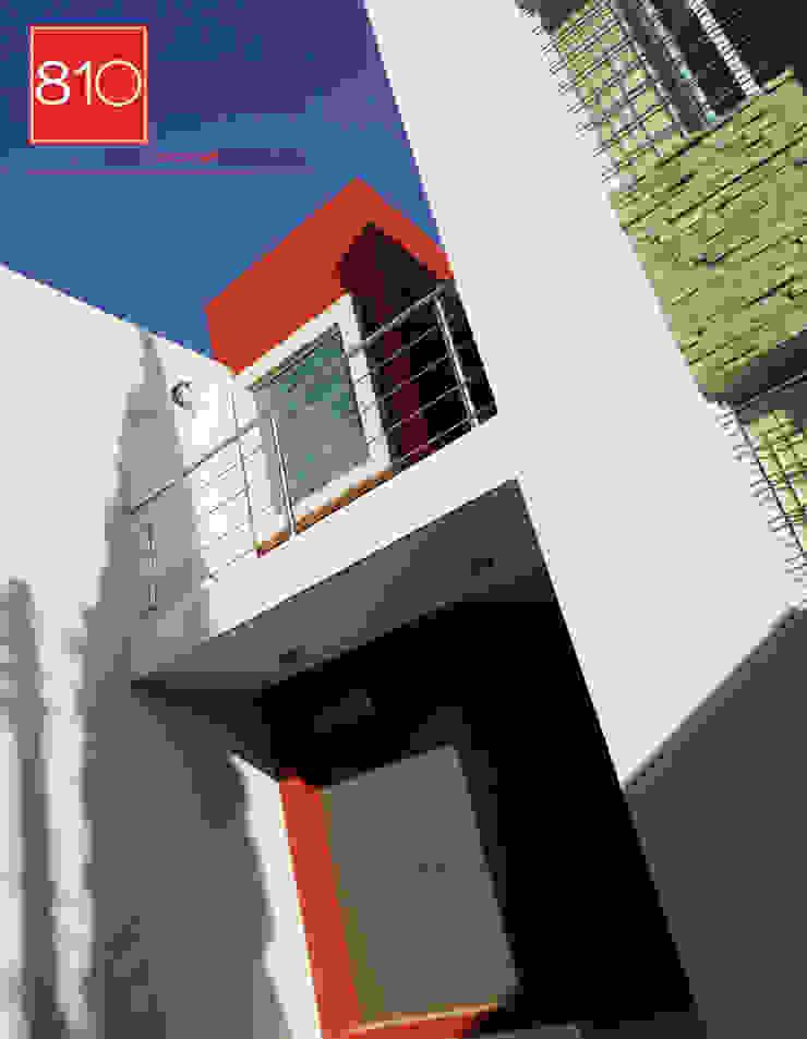 Casa Habitación. Amézquita Córdova Casas modernas de 810 Arquitectos Moderno