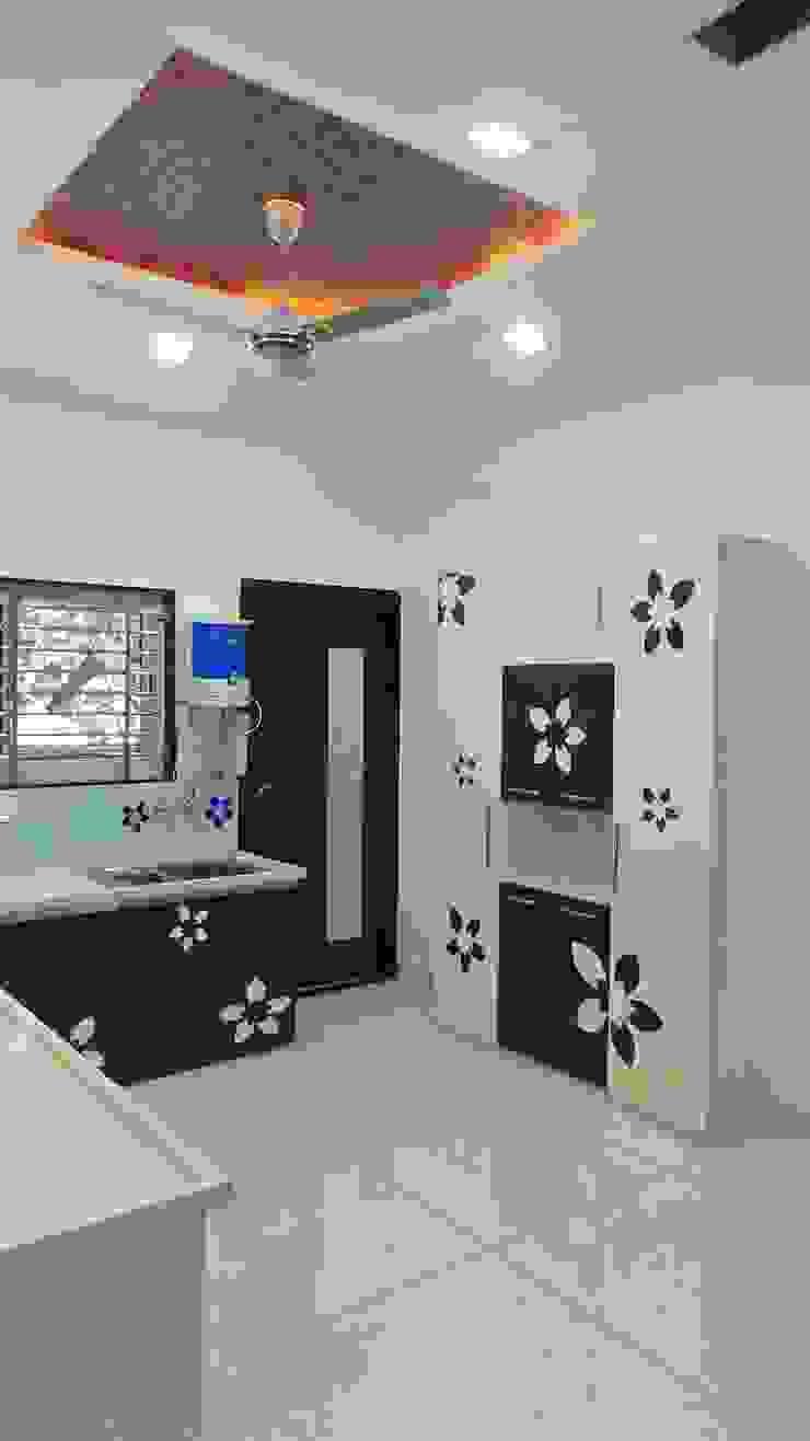 Shadab Anwari & Associates. Dapur Modern