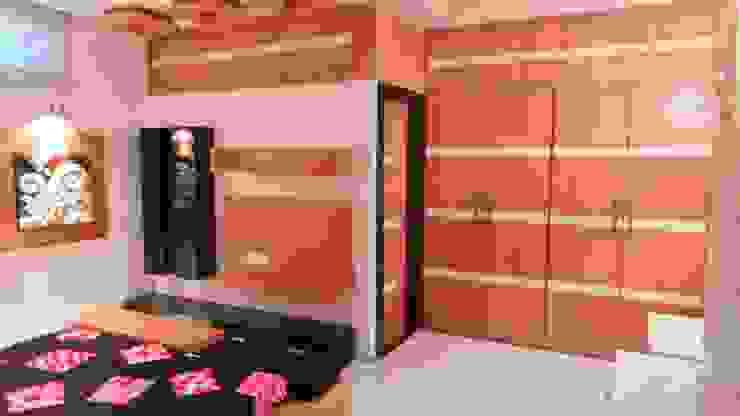 Shadab Anwari & Associates. Kamar Tidur Modern