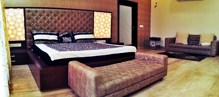 Residential interiors Modern style bedroom by Ingenious Modern