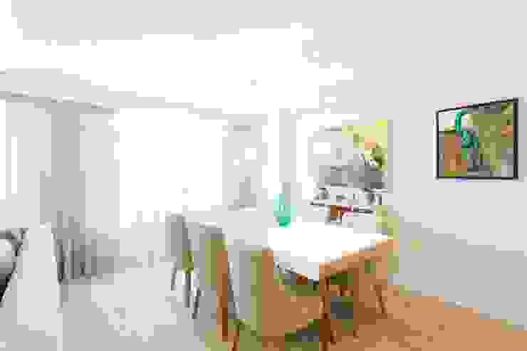 Scandinavian style living room by GESTION INTEGRAL DE PROYECTOS DEL NOROESTE S.L. Scandinavian