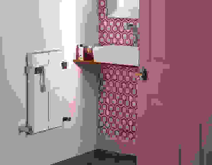 Blok towel radiator Feature Radiators Modern bathroom Aluminium/Zinc White