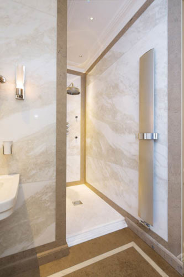 Radiators for small bathrooms Feature Radiators Bagno moderno Beige