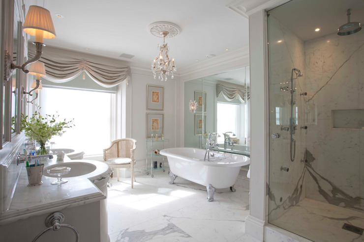 Bathroom Classic style bathroom by Janine Stone Design Classic Marble