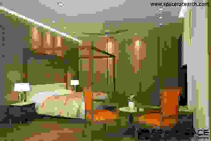 SPACE RACE ARCHITECTS Camera da letto in stile classico