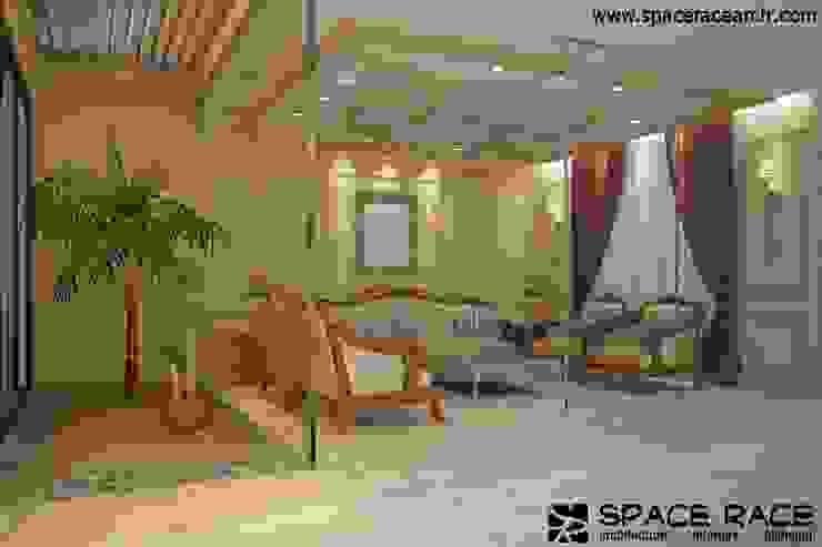 SPACE RACE ARCHITECTS Soggiorno classico