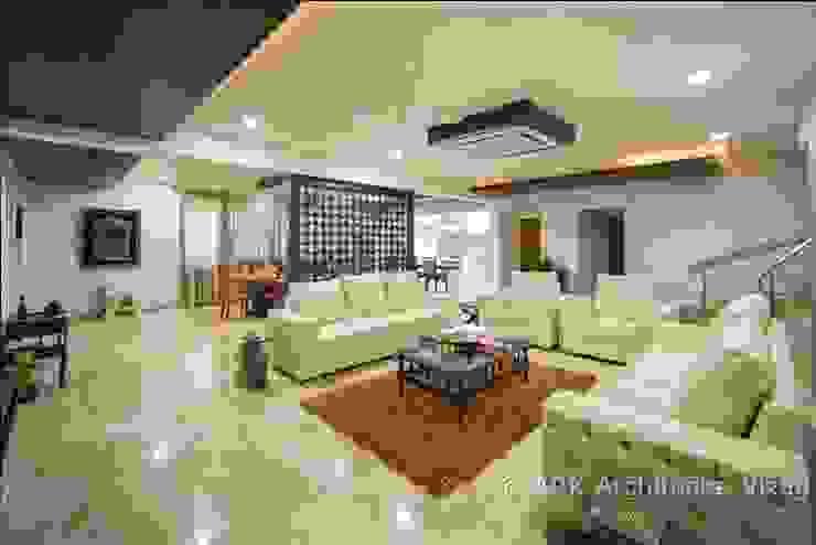Pasillos, vestíbulos y escaleras de estilo moderno de ARK Architects & Interior Designers Moderno