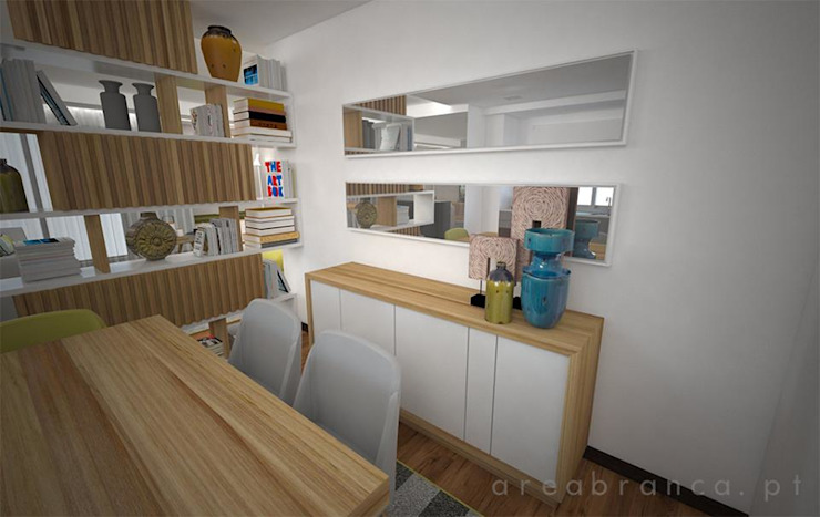 Sala e Cozinha DA Cozinhas modernas por Areabranca Moderno