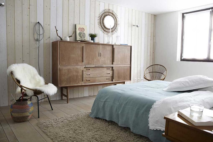 Industrial style bedroom by Design for Love Industrial
