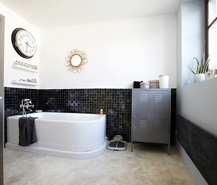 Design for Love Industrial style bathroom