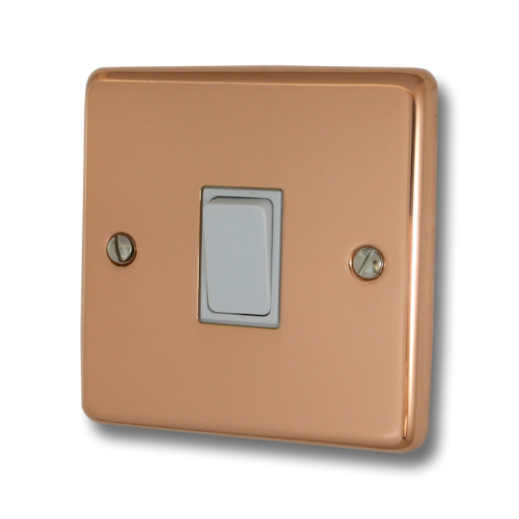 Bright copper light switch Socket Store HaushaltAccessoires und Dekoration