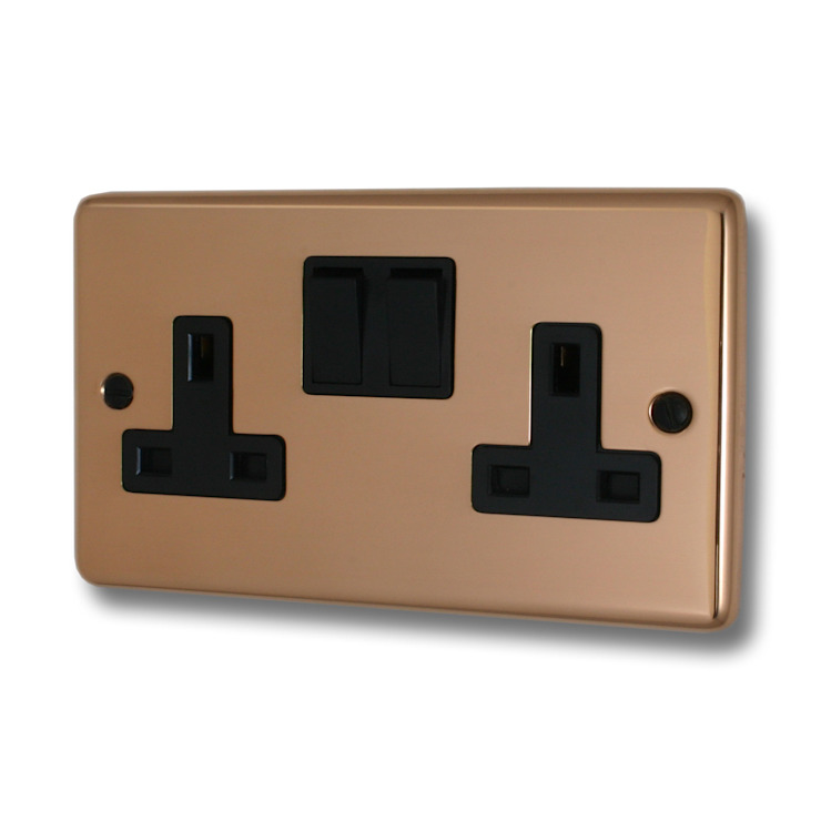 Bright copper socket Socket Store HaushaltAccessoires und Dekoration