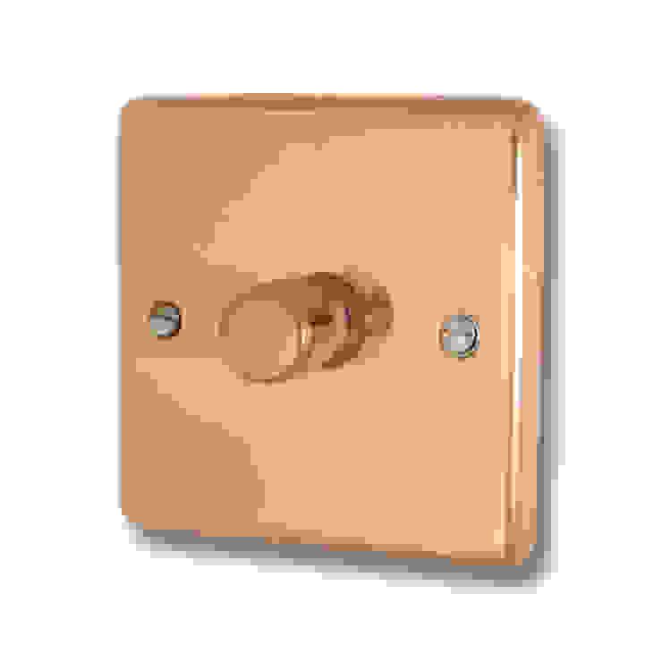 Bright copper dimmer Socket Store HaushaltAccessoires und Dekoration