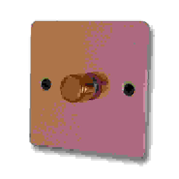 Flat bright copper dimmer Socket Store HaushaltAccessoires und Dekoration