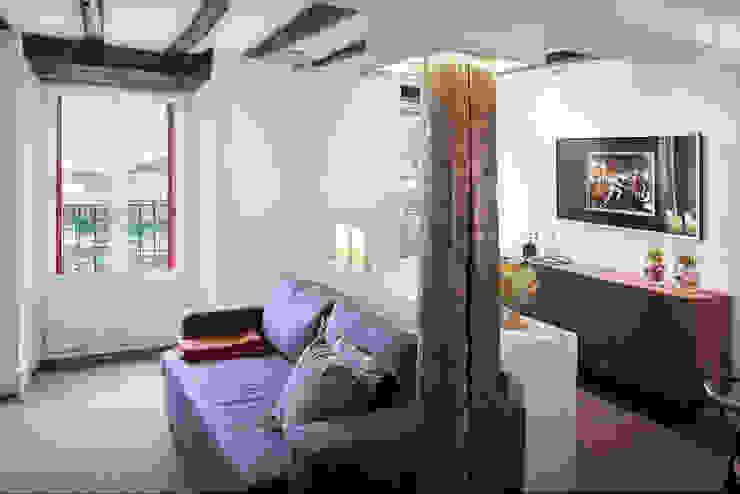 Modern living room by Estibaliz Martín Interiorismo Modern Wood Wood effect