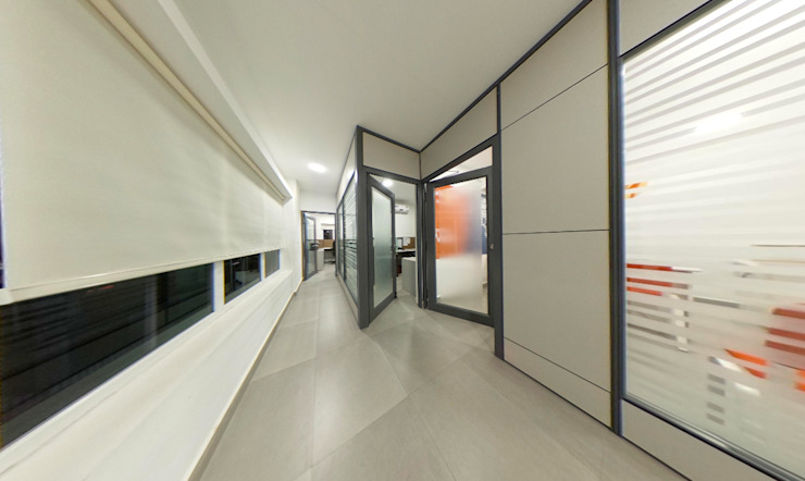 The corridor Designink Architecture and Interiors Office buildings