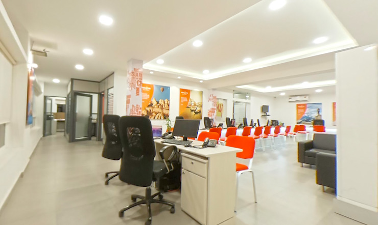 Retail section of the office Designink Architecture and Interiors Office buildings