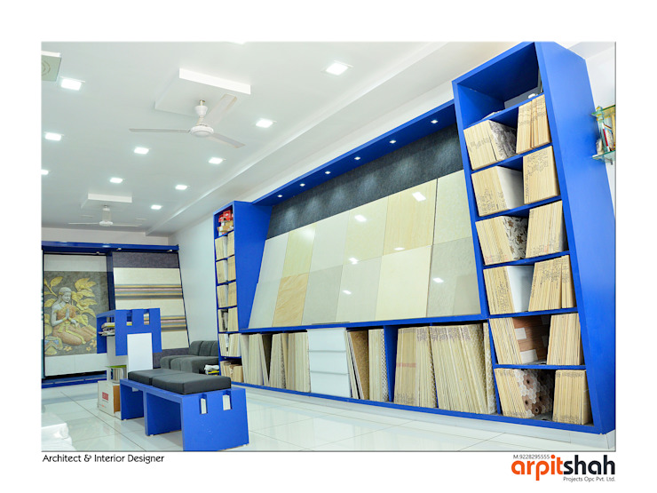 Ved Ceramics @ Sola,Agraval Mall by ARPIT SHAH PROJECTS OPC PVT LTD.