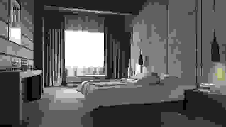 EcoHouse Group Minimalist bedroom